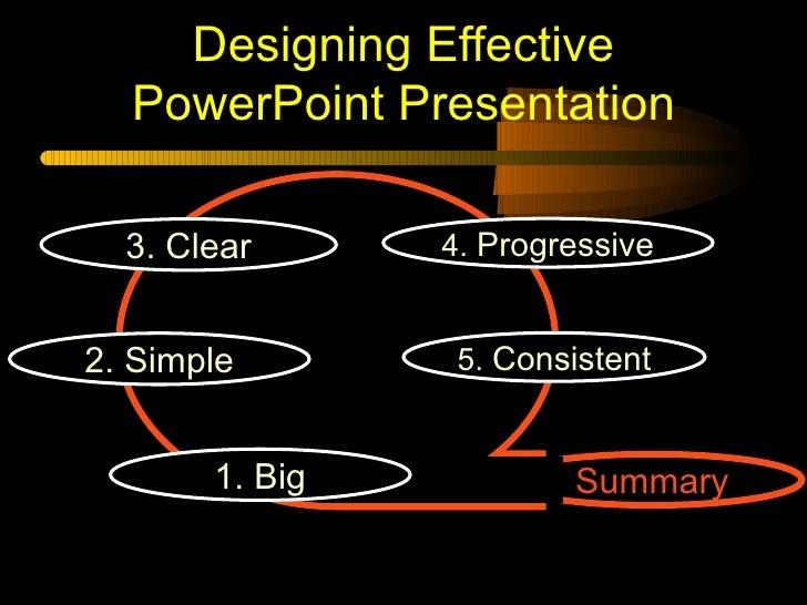 effective powerpoint presentations