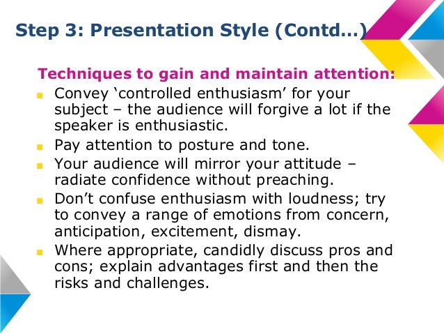 """effective presentation techniques Which presentation techniques can help you improve your delivery and convince your audience 1) to inspire, start with """"why"""" not """"what"""" what magic do both the speeches of martin luther king."""