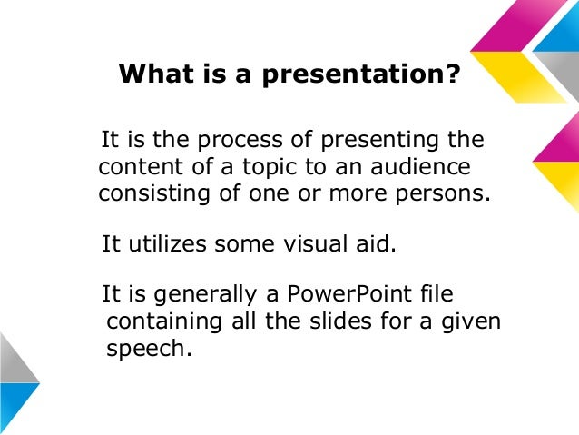 Making Effective Presentations; 2. Photo