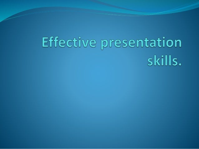 Oral presentation  Physical context: will the room be large? How many people will be there? How much time do you have? Wi...