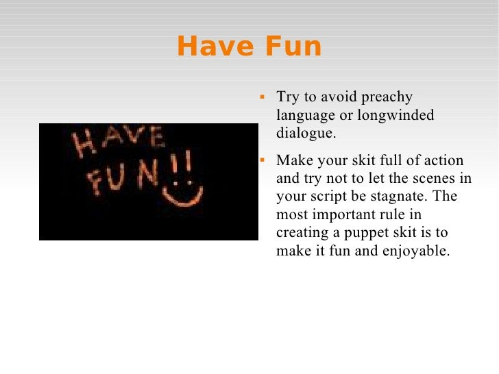 How to do Effective Puppet Shows