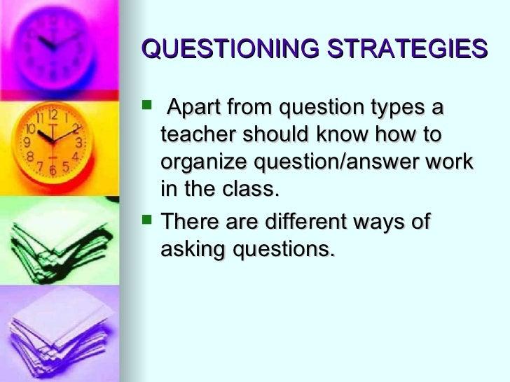 Effective questioning techniques (aslam)
