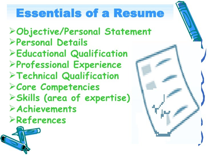 High Quality ... INTERVIEW; 6. Essentials Of A Resume ...