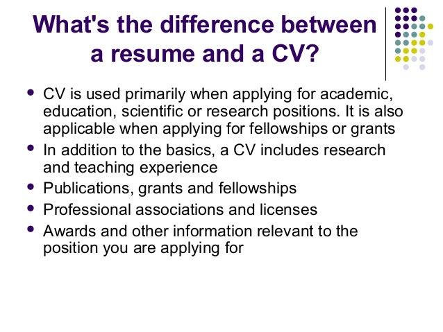 effective resume writing - Effective Resume Writing