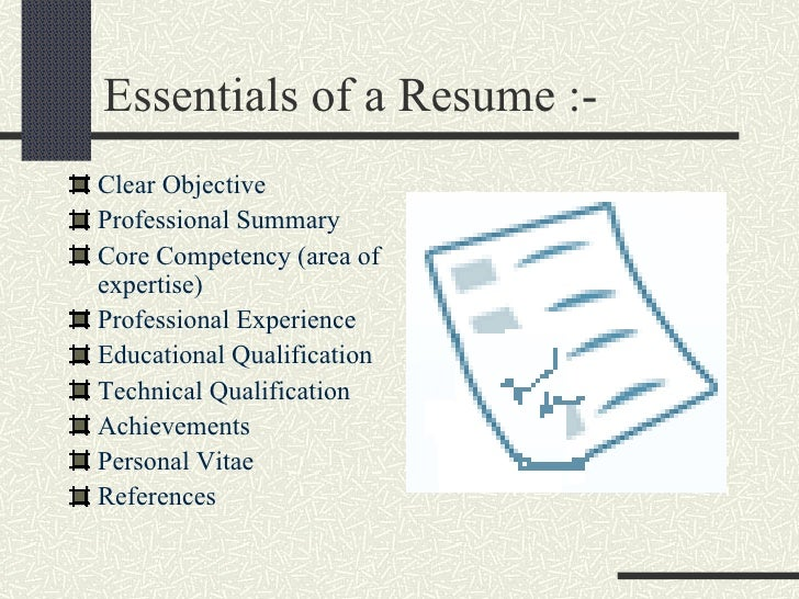 Image result for Essentials Tips For Resume Writing
