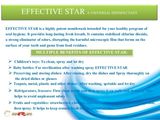 Effective Star Presentation