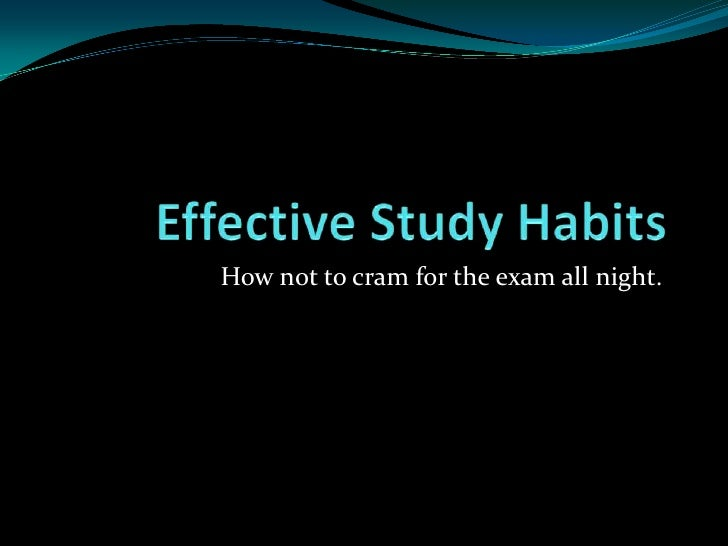 introduction of the study habits I introduction study habits play an important role in the achievement of the  students at all levels of education habits usually help students to do something  with.