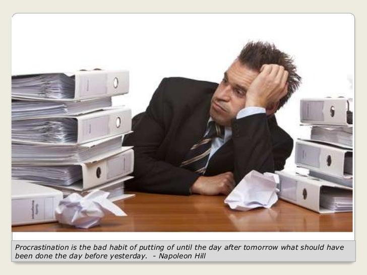 Effective tips for overcoming procrastination Slide 2