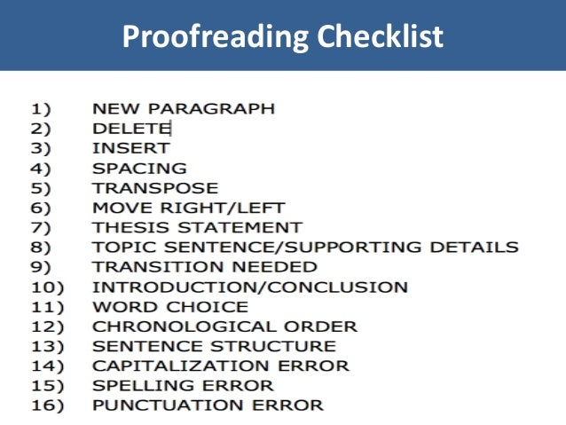 Image result for proofreading tips