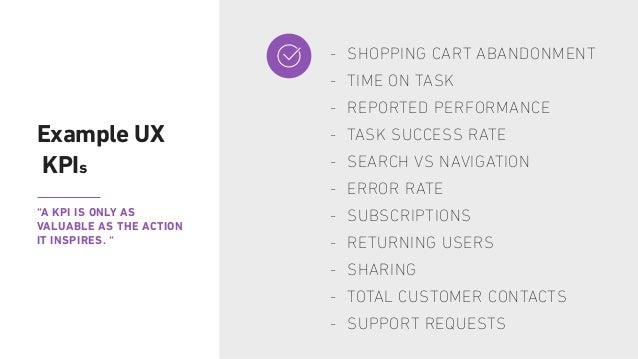Measuring + Improving THE UX KPI