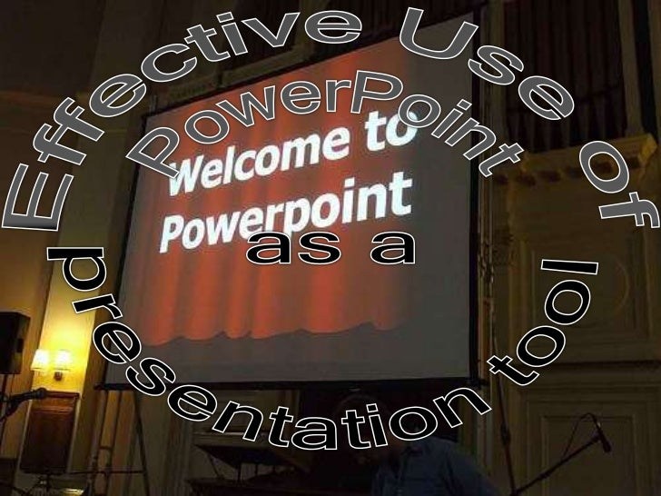 • Slide presentation software such as PowerPoint  has become an ingrained part of many  instructional settings, particular...