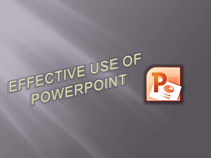 PowerPoint slideshows can be a good way to get ideasacross -- when used correctly. Sometimes, they can beboring and confus...