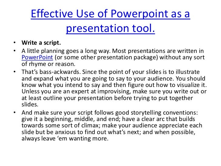 What everybody ought to know about using powerpoint for e-learning.