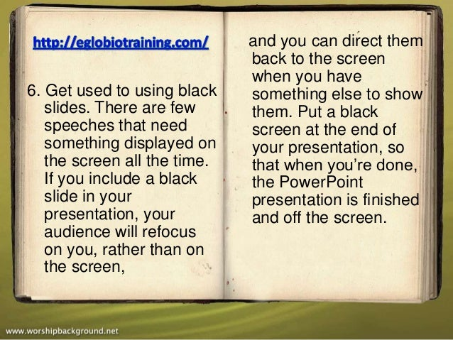 and you can direct them                              back to the screen                              when you have6. Get u...