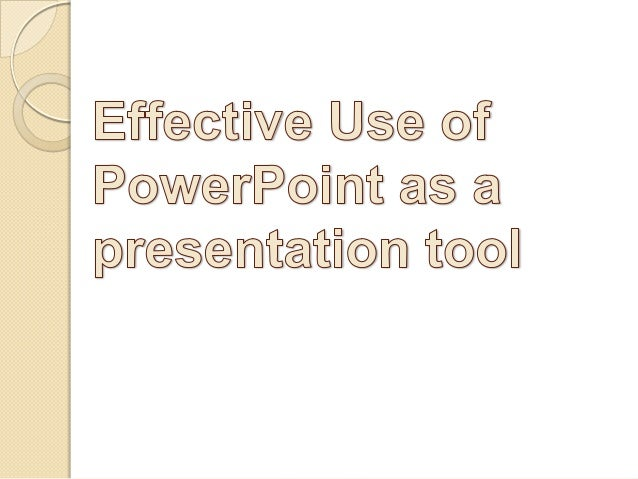 http://eglobiotraining.com        Introduction      Slide presentation software such as      PowerPoint has become an ingr...