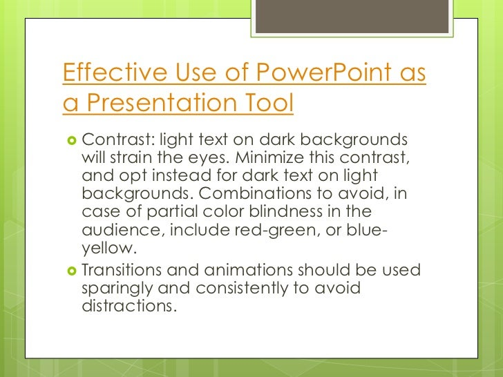 How to Write Better PowerPoint Presentations