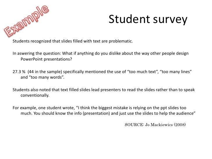 effective use of powerpoint in higher education