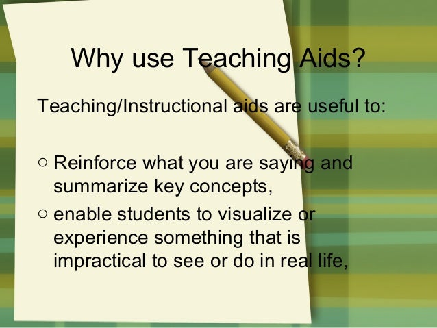 aids to effective teaching