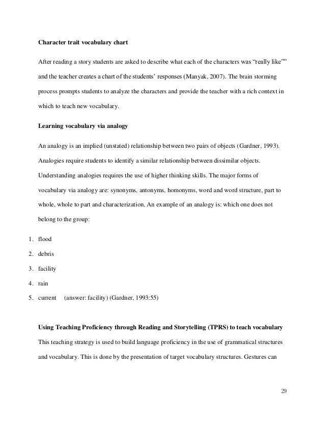 mirror writing application essays