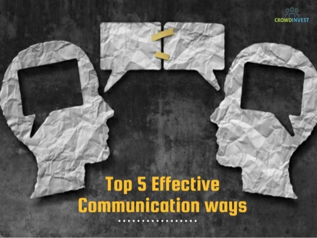 Top 5 Effective ways of communication