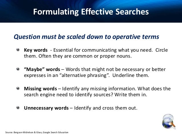 web search techniques pdf