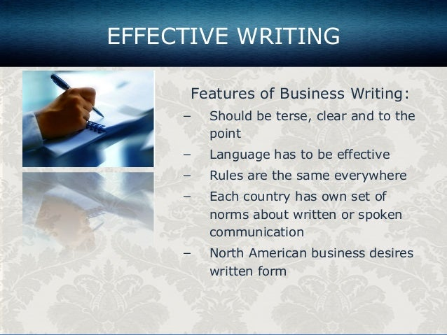 hbr effective business writing