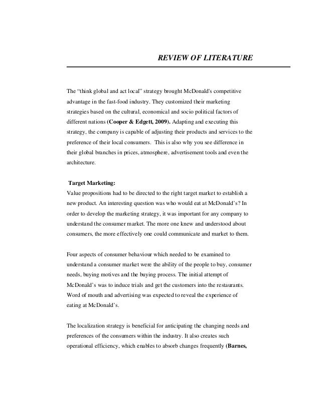review of literature on marketing strategies The empirical study of literature is an interdisciplinary field of research which includes the psychology, sociology, philosophy, the contextual study of literature, and the history of reading literary texts.