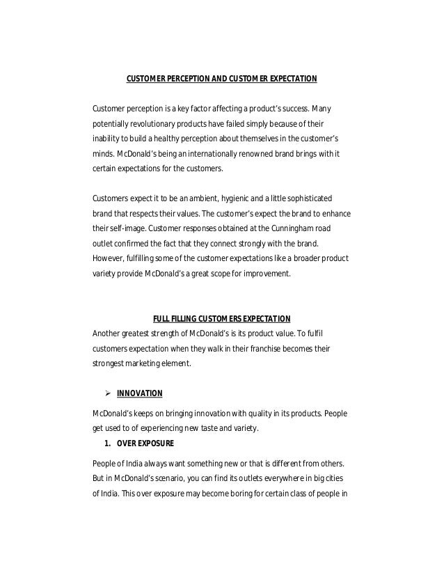 mcdonalds case study problem statement Case study of mcdonalds: strategy formulation in a mr greenberg realized there was a major problem arising within their case study of mcdonalds.