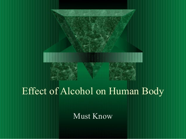 Effect of Alcohol on Human Body Must Know