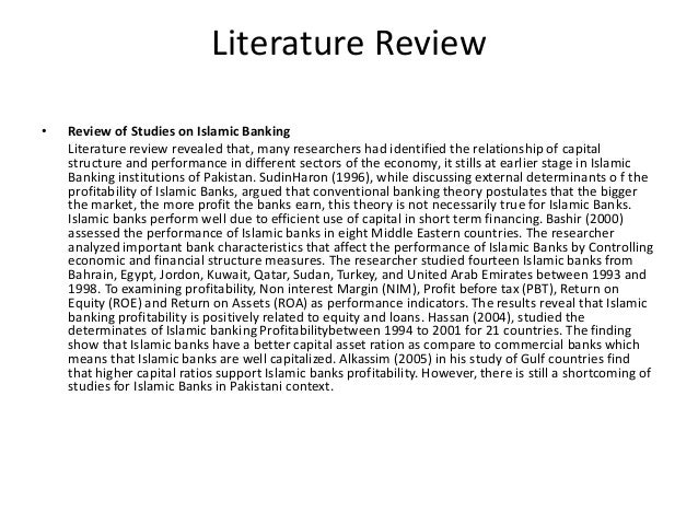 literature review on banking products Technological change, financial innovation, and diffusion in change in terms of banking products the literature on a larger number of new banking.