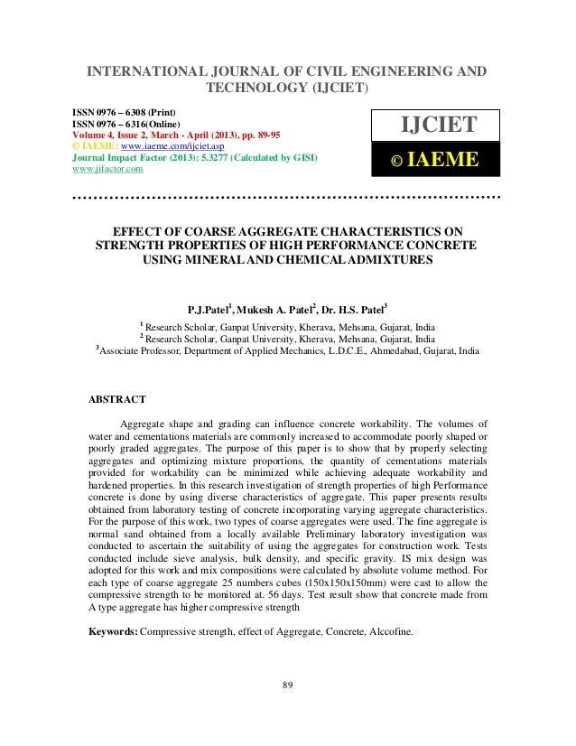 INTERNATIONAL JOURNAL and Technology (IJCIET), ISSN 0976 – 6308   International Journal of Civil Engineering OF CIVIL ENGI...