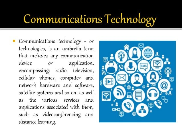 effects of technology on communication Free effects of technology papers, essays, and research papers  everything is almost made possible by the advance communications technology surrounding us.