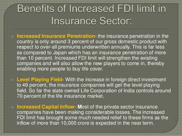Increasing insurance penetration