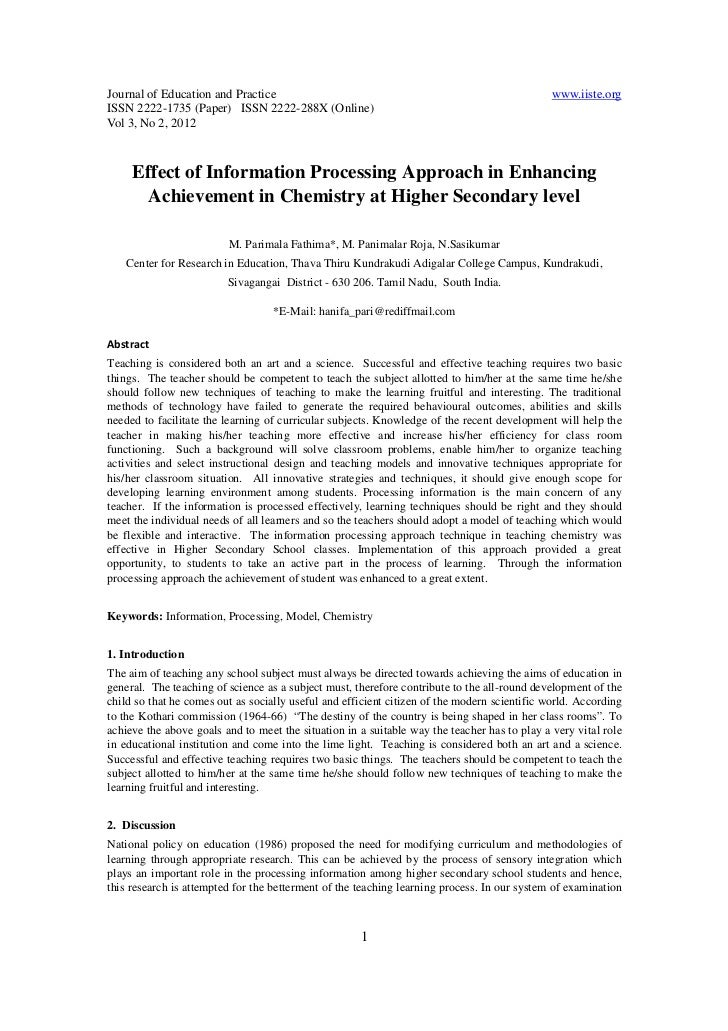 Journal of Education and Practice                                                             www.iiste.orgISSN 2222-1735 ...