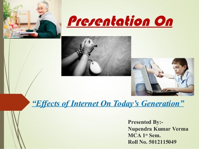 effects of internet As technology has played a bigger role in our lives, our skills in critical thinking and analysis have declined, while our visual skills have improved, a ucla.