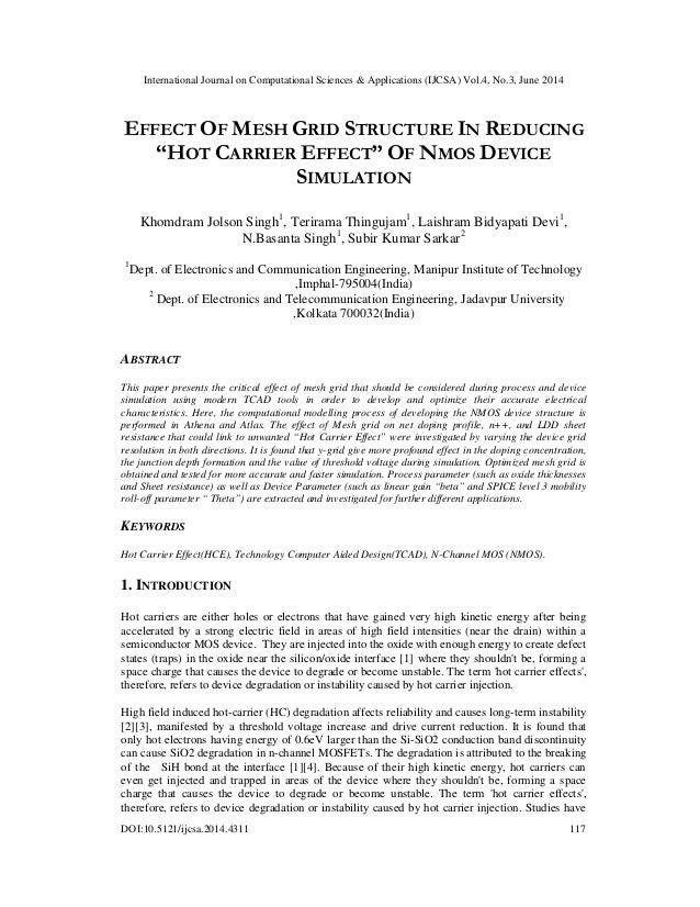 International Journal on Computational Sciences & Applications (IJCSA) Vol.4, No.3, June 2014 DOI:10.5121/ijcsa.2014.4311 ...
