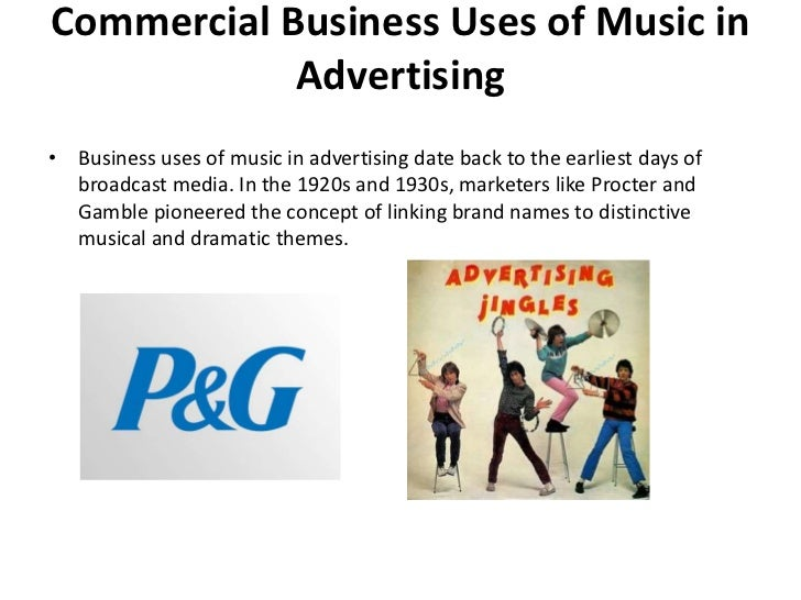 Effect of music in advertisment