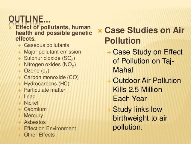 Case study air quality systems inc
