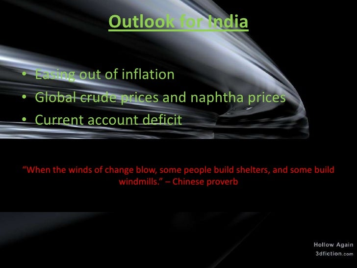 impact of recession on india Aryan hr times reported in its may issue that china is heading for a long slow down and may have bumpy road ahead the share market crashing to the extent of 30% in a week in the 1 st week of july was indeed a bumpy ride.