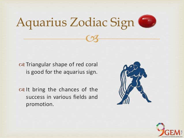 Effect of red coral on each zodiac sign