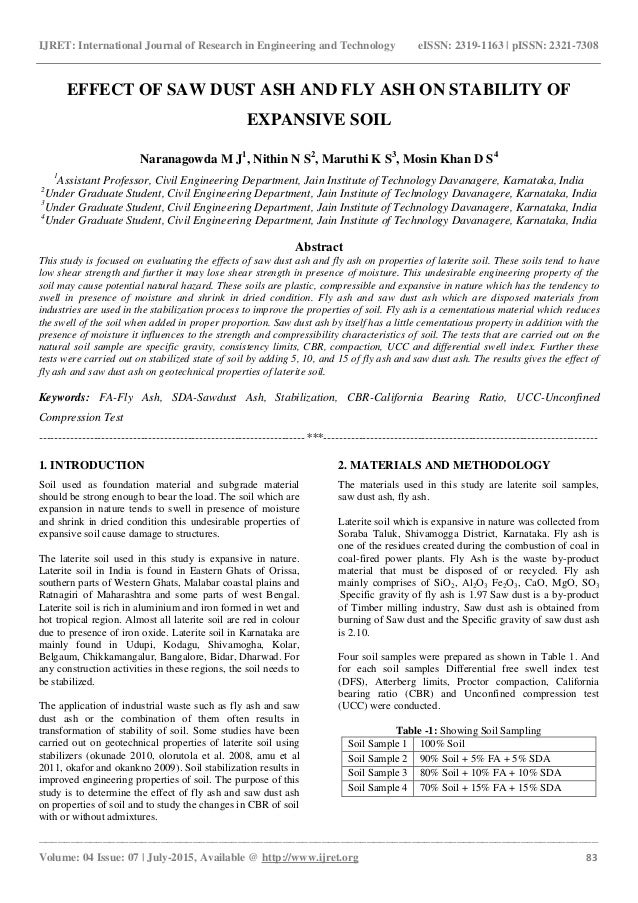 Phd thesis fly ash use
