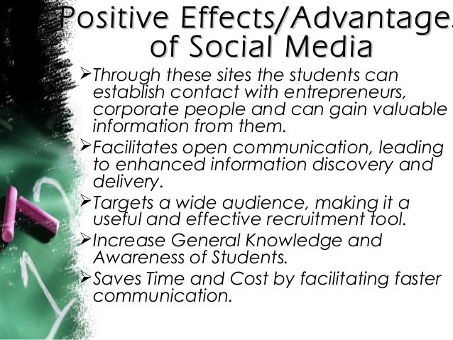 Impact of social media argumentative essay