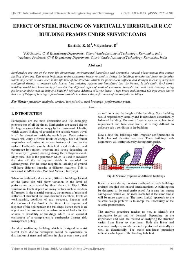 Assessment of the Torsion Effect in Asymmetric Buildings under Seismic Loading