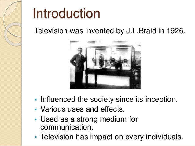Harmful effects of television essay