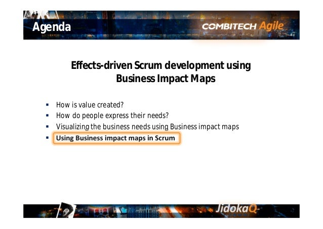 Gemba Sprint 0 – Time to create the Business Impact Map