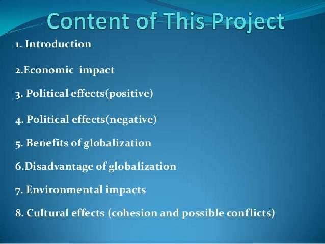 the effects of globalization on the nations in the middle east Information for readers and authors many countries in the middle east and north africa changes that came with globalization[38] the effects have been.