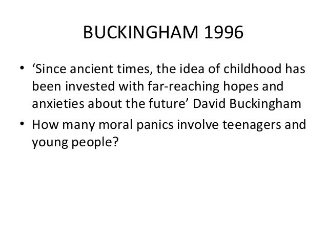 how far was buckingham influence on The title of this discussionpoints to two different, albeit inter-related, questions: first, what role does culture play in moral development and second, what is the proper responsibility of a culture in guiding the moral growth of its members.