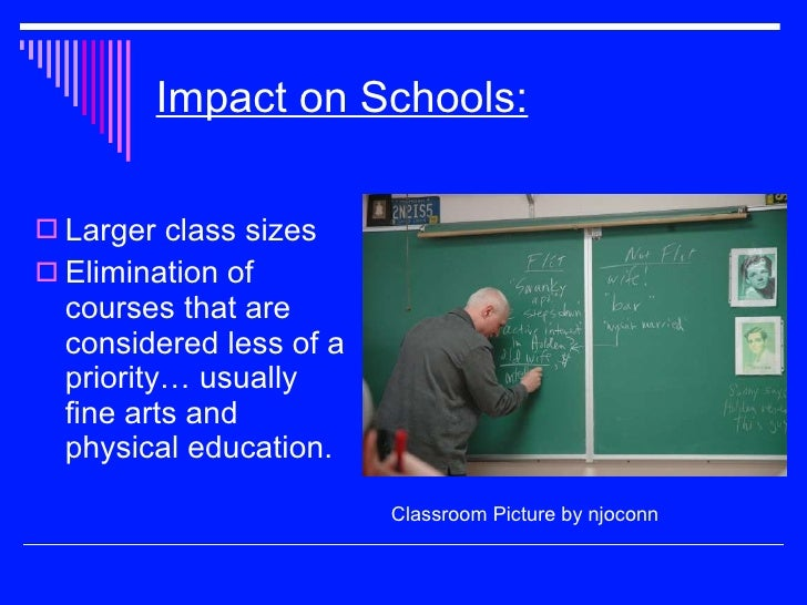 physical education budget cuts Under the administration's 2018 education budget set to release next week,  nearly $10 billion cuts would affect work-study, mental health programs and child   no funds for mental health, anti-bullying and physical education.