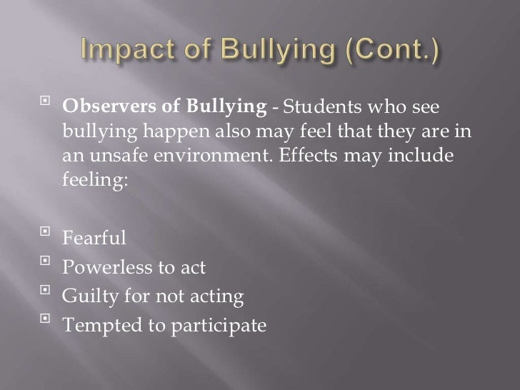 the negative effects on bullying Stress and health  ie cumulative negative stress caused by bullying  for insight into the stress response and the effects of prolonged stress on the body.