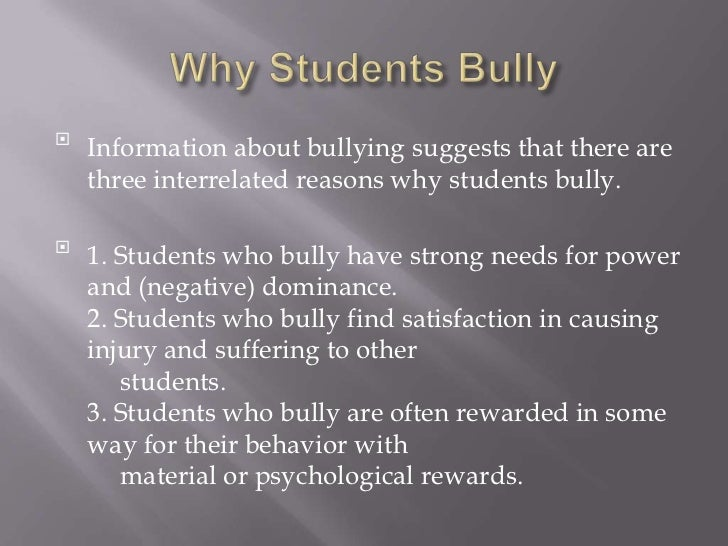 the negative impact of bullying Bullying duration linked to lingering health effects term bullying has a severe impact on a child's overall health, and that its negative effects can.